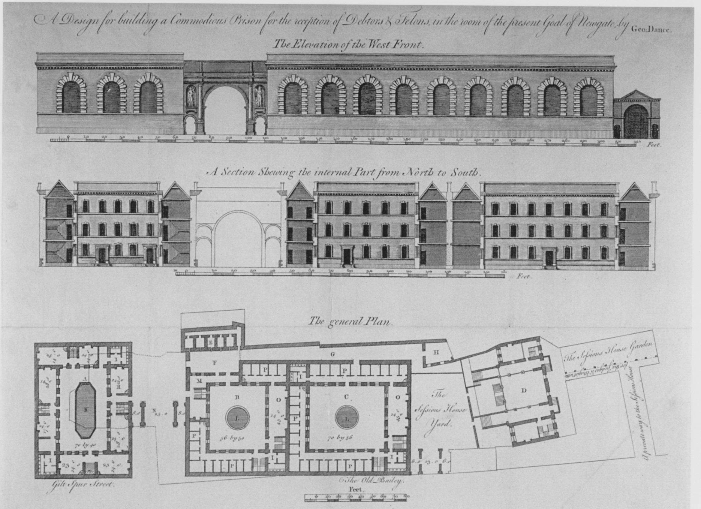 Prison Floor Plans