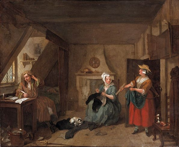 Background parish relief london lives for William hogarth was noted for painting